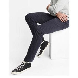 GAP Denim Indigo Navy Skinny Corduroy Jeans-30x34